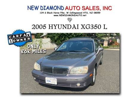 2005 Hyundai XG350 for sale at New Diamond Auto Sales, INC in West Collingswood Heights NJ