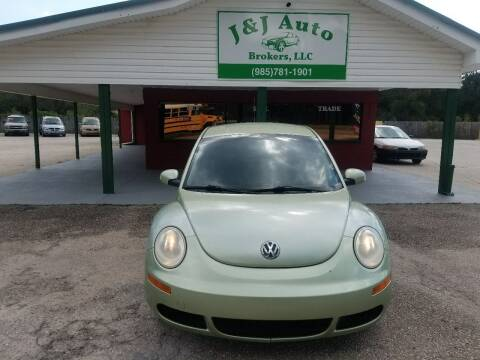 2009 Volkswagen New Beetle for sale at J & J Auto Brokers in Slidell LA