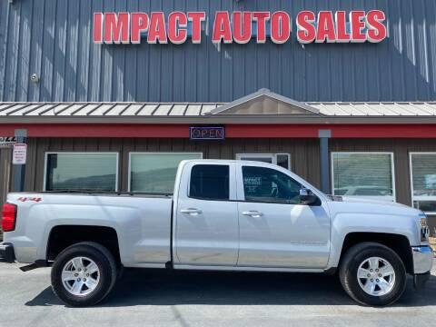 2018 Chevrolet Silverado 1500 for sale at Impact Auto Sales in Wenatchee WA