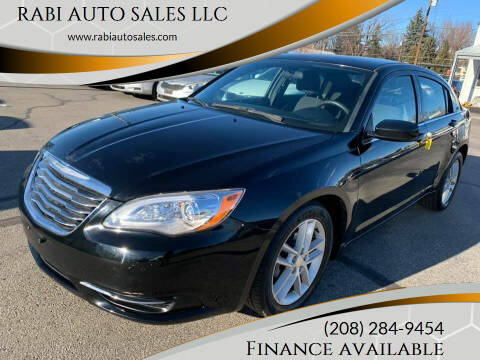 2013 Chrysler 200 for sale at RABI AUTO SALES LLC in Garden City ID