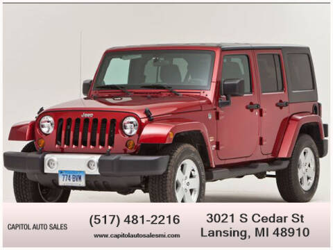 2011 Jeep Wrangler Unlimited for sale at Capitol Auto Sales in Lansing MI