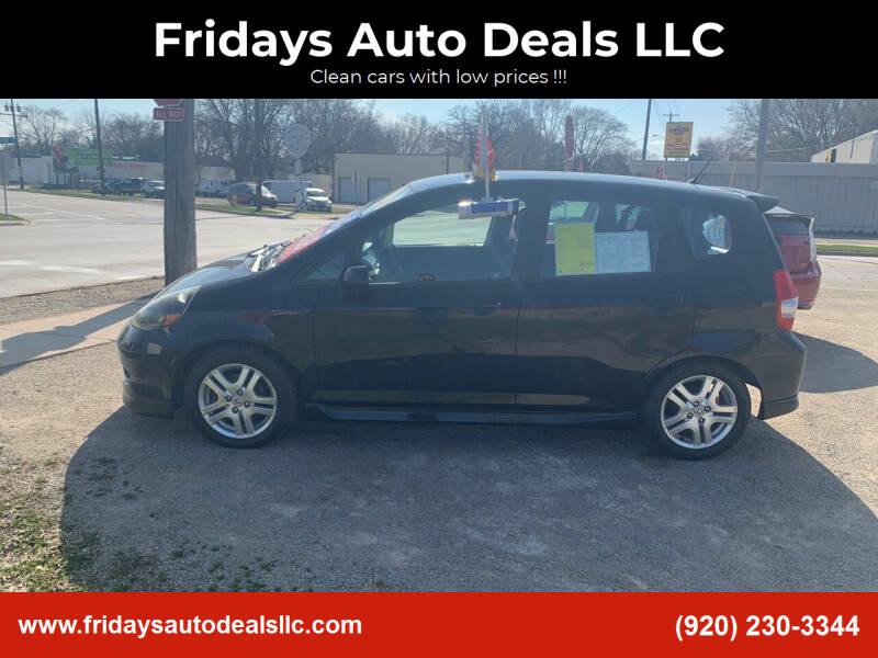 2008 Honda Fit for sale at Fridays Auto Deals LLC in Oshkosh WI