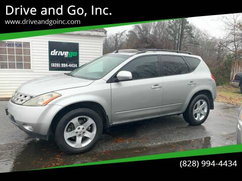 2005 Nissan Murano for sale at Drive and Go, Inc. in Hickory NC