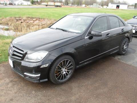 2014 Mercedes-Benz C-Class for sale at KAISER AUTO SALES in Spencer WI