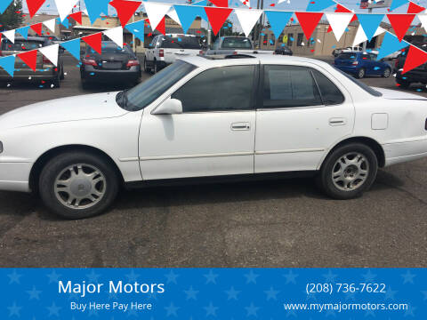 1993 Toyota Camry for sale at Major Motors in Twin Falls ID