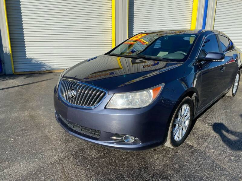 2013 Buick LaCrosse for sale at RoMicco Cars and Trucks in Tampa FL