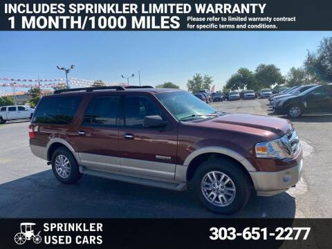 2007 Ford Expedition EL for sale at Sprinkler Used Cars in Longmont CO