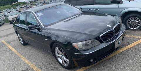 2006 BMW 7 Series for sale at Trocci's Auto Sales in West Pittsburg PA