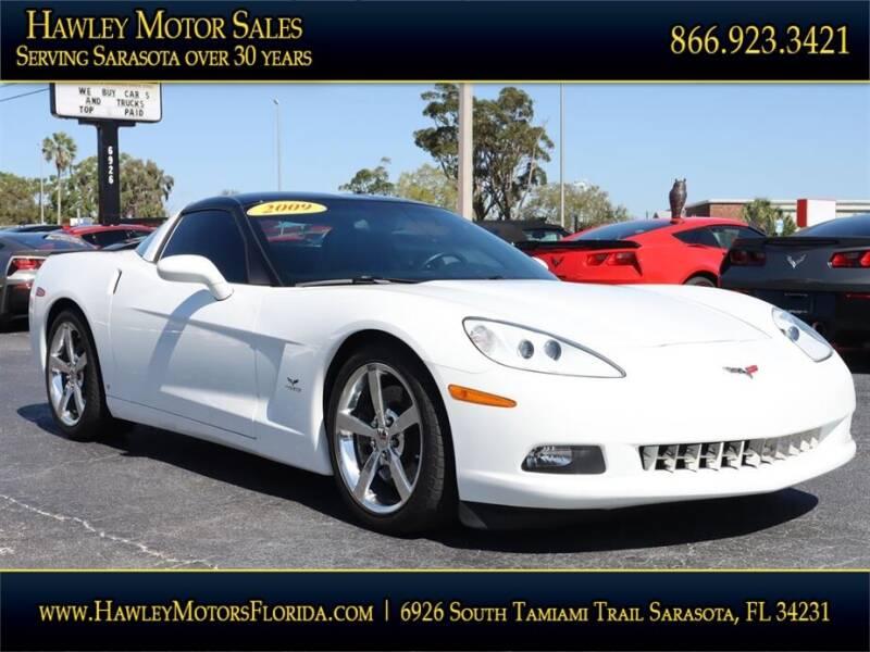 2009 Chevrolet Corvette for sale at Hawley Motor Sales in Sarasota FL
