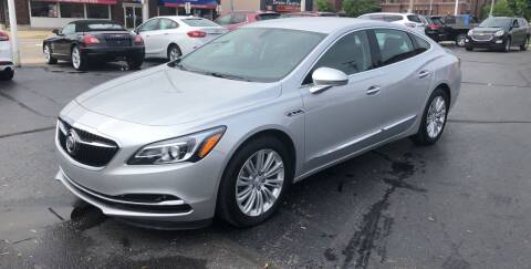 2018 Buick LaCrosse for sale at N & J Auto Sales in Warsaw IN