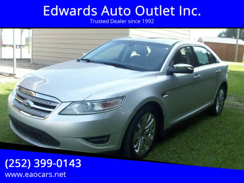 2010 Ford Taurus for sale at Edwards Auto Outlet Inc. in Wilson NC