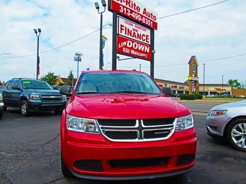 2014 Dodge Journey for sale at Bi-Rite Auto Sales in Clinton Township MI