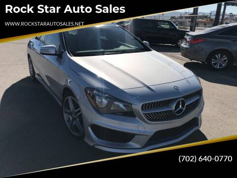 2014 Mercedes-Benz CLA for sale at Rock Star Auto Sales in Las Vegas NV