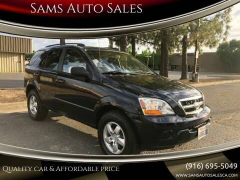 2009 Kia Sorento for sale at Sams Auto Sales in North Highlands CA
