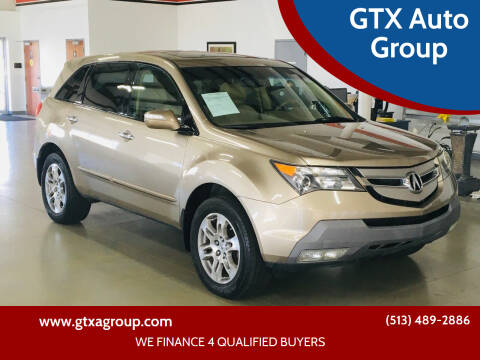 2008 Acura MDX for sale at GTX Auto Group in West Chester OH