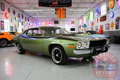 1974 Plymouth Satellite for sale at Classics and Beyond Auto Gallery in Wayne MI