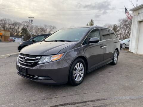 2016 Honda Odyssey for sale at SOUTH SHORE AUTO GALLERY, INC. in Abington MA