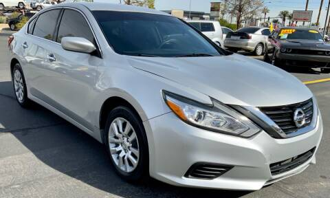2016 Nissan Altima for sale at Charlie Cheap Car in Las Vegas NV
