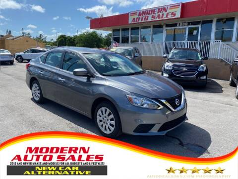 2019 Nissan Sentra for sale at Modern Auto Sales in Hollywood FL