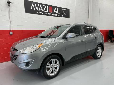 2010 Hyundai Tucson for sale at AVAZI AUTO GROUP LLC in Gaithersburg MD