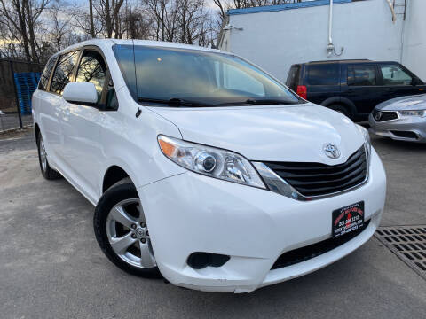 2014 Toyota Sienna for sale at JerseyMotorsInc.com in Teterboro NJ