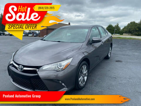 2017 Toyota Camry for sale at Penland Automotive Group in Taylors SC
