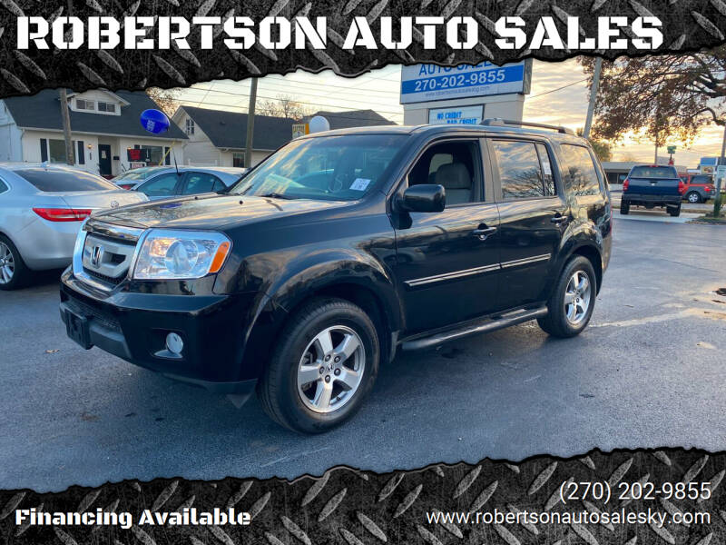 2009 Honda Pilot for sale at ROBERTSON AUTO SALES in Bowling Green KY