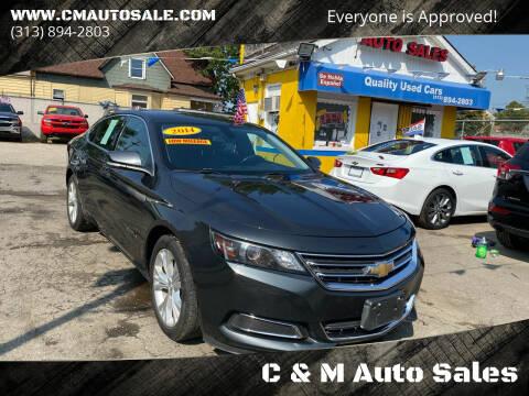 2014 Chevrolet Impala for sale at C & M Auto Sales in Detroit MI