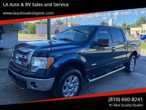 2014 Ford F-150 for sale at LA Auto & RV Sales and Service in Lapeer MI
