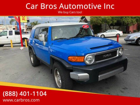 2007 Toyota FJ Cruiser for sale at Car Bros Automotive Inc in Lomita CA