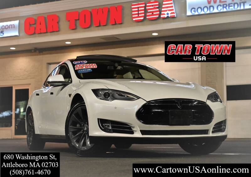 2013 Tesla Model S for sale at Car Town USA in Attleboro MA