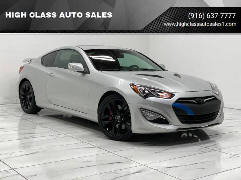 2013 Hyundai Genesis Coupe for sale at HIGH CLASS AUTO SALES in Rancho Cordova CA