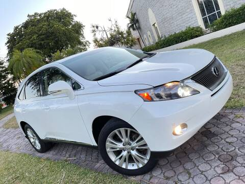 2011 Lexus RX 450h for sale at Citywide Auto Group LLC in Pompano Beach FL
