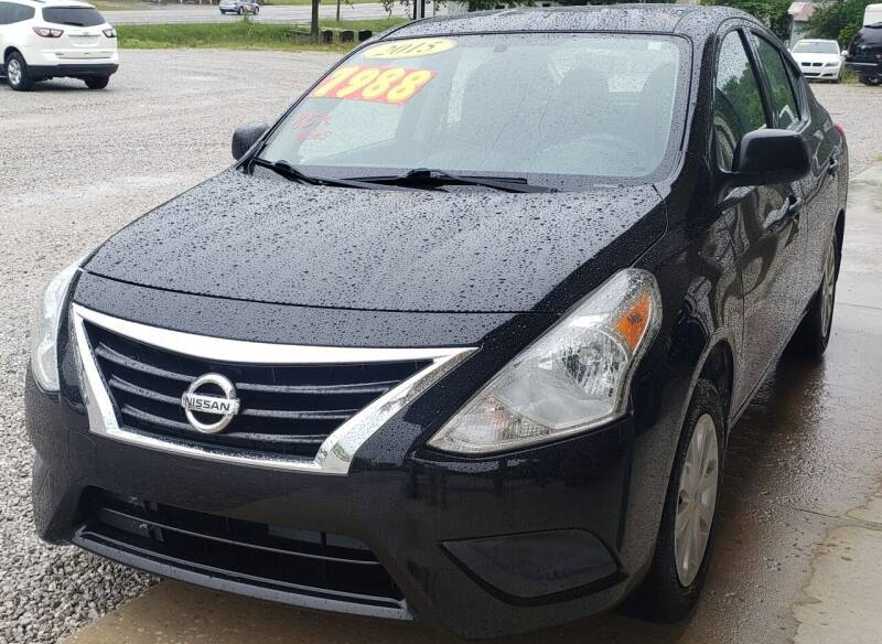 2015 Nissan Versa for sale at COOPER AUTO SALES in Oneida TN