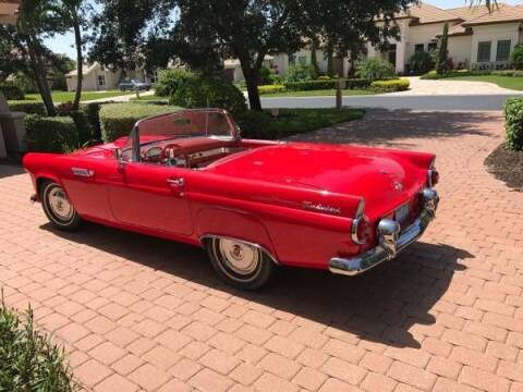 1955 Ford Thunderbird for sale at Classic Car Deals in Cadillac MI