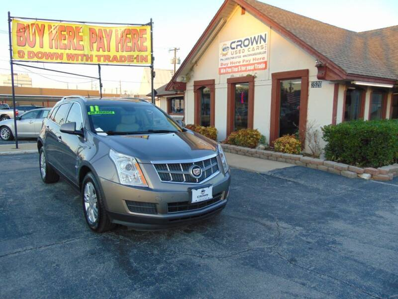 2011 Cadillac SRX for sale at Crown Used Cars in Oklahoma City OK