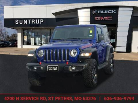 2018 Jeep Wrangler for sale at SUNTRUP BUICK GMC in Saint Peters MO