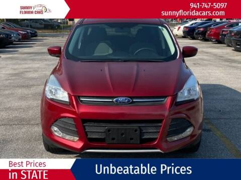 2013 Ford Escape for sale at Sunny Florida Cars in Bradenton FL