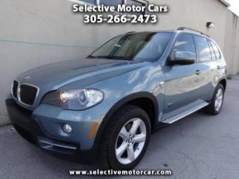 2008 BMW X5 for sale at Selective Motor Cars in Miami FL