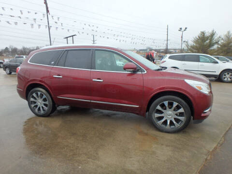 2017 Buick Enclave for sale at BLACKWELL MOTORS INC in Farmington MO