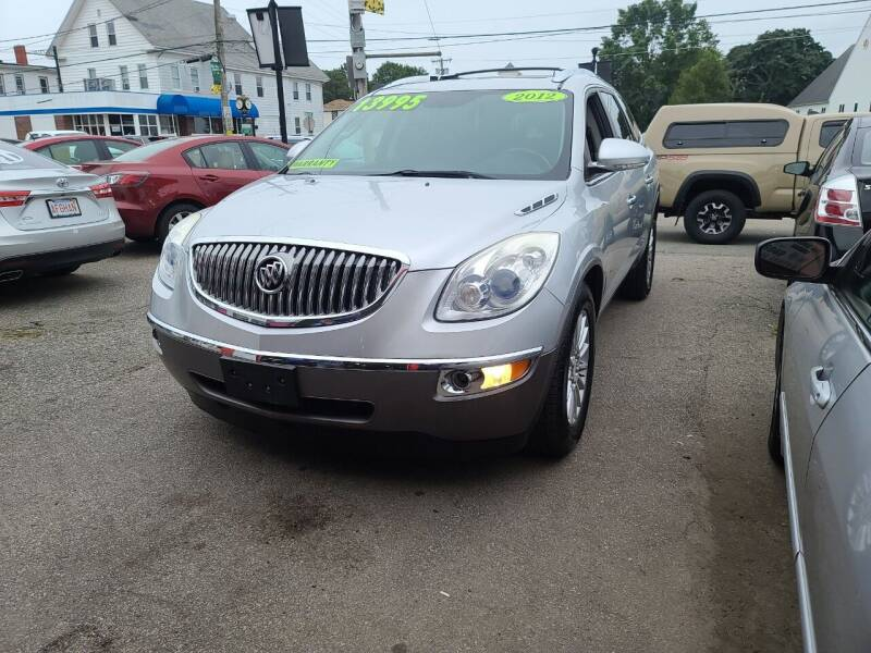 2012 Buick Enclave for sale at TC Auto Repair and Sales Inc in Abington MA