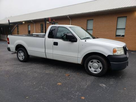 2007 Ford F-150 for sale at Wheel Tech Motor Vehicle Sales in Maylene AL
