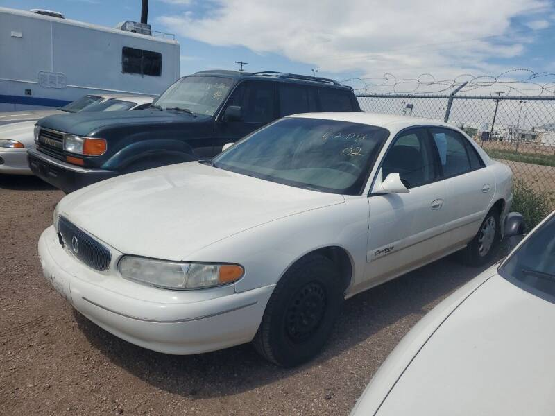 2002 Buick Century for sale at PYRAMID MOTORS - Fountain Lot in Fountain CO