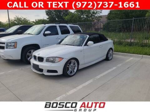2011 BMW 1 Series for sale at Bosco Auto Group in Flower Mound TX