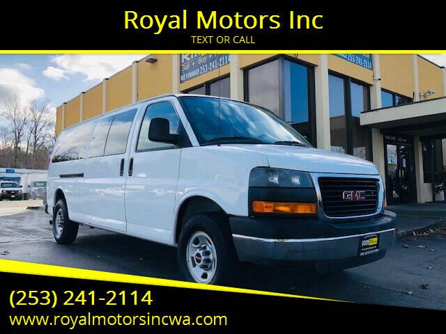 2008 GMC Savana Passenger for sale at Royal Motors Inc in Kent WA