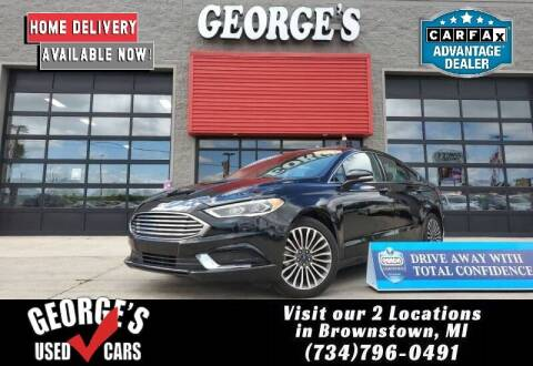 2018 Ford Fusion for sale at George's Used Cars - Pennsylvania & Allen in Brownstown MI