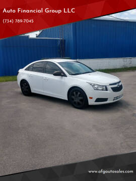 2014 Chevrolet Cruze for sale at Auto Financial Group LLC in Flat Rock MI