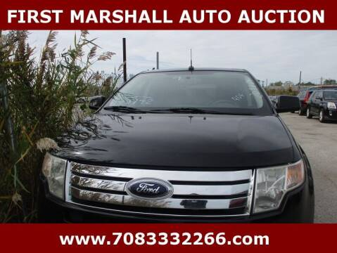 2009 Ford Edge for sale at First Marshall Auto Auction in Harvey IL