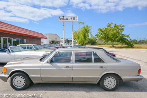1988 Mercedes-Benz 300-Class for sale at Top Classic Cars LLC in Fort Myers FL