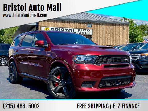2018 Dodge Durango for sale at Bristol Auto Mall in Levittown PA